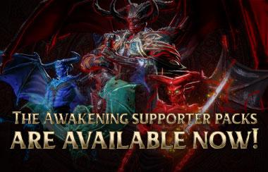 awakening supporter pack