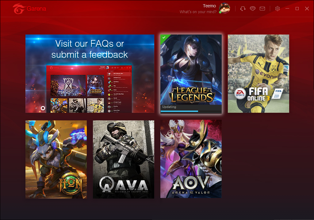 Garena+ will be replaced by the new Garena on 23/10/2017