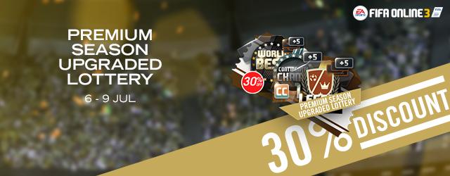 FOM Exclusive - Premium Season Upgraded Lottery (30